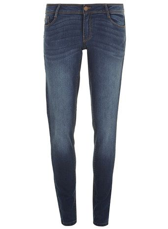 Mid Wash 'Bailey' Ultra Stretch Super Skinny Jeans