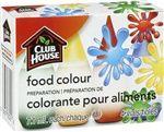 Club House Préparation de colorant alimentaire en 4 fioles
