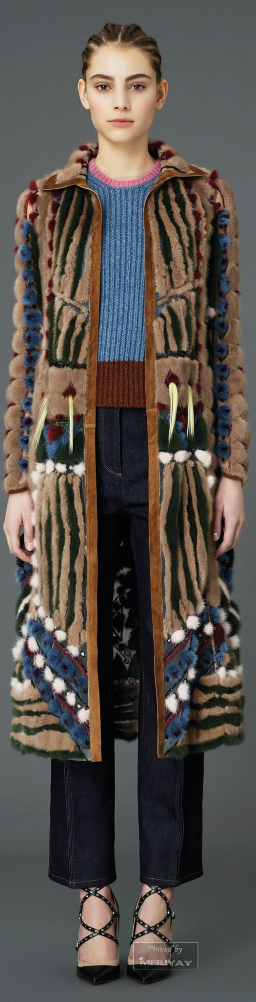 "Valentino.Pre-Fall 2015 ""And the LORD said to Moses, ""Go to the people and consecrate them today and tomorrow. Have them wash their clothes."" Exodus 19:10"