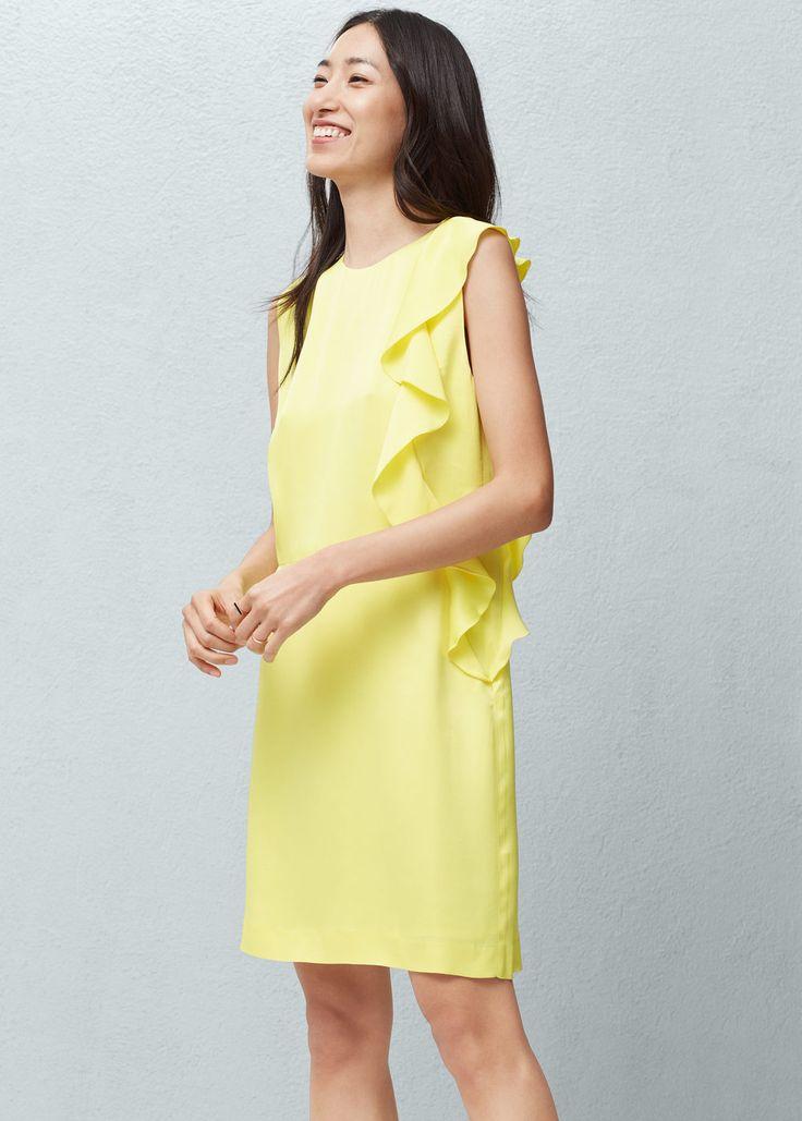 Off shoulder dress   MANGO
