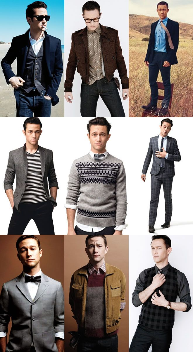 """""""Would love to just flat out copy Joseph Gordon-Levitt's style."""""""