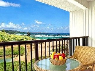 Kauai Beach Villas G-6 Deluxe Oceanfront SPECIALS
