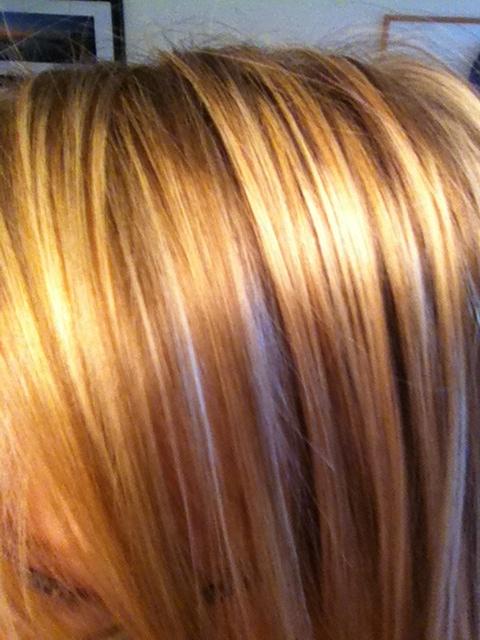 Golden Blonde Highlights Hair Color Styles Pinterest