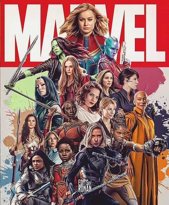 Whos your favorite female character in the MCU?! #comicsandcoffee