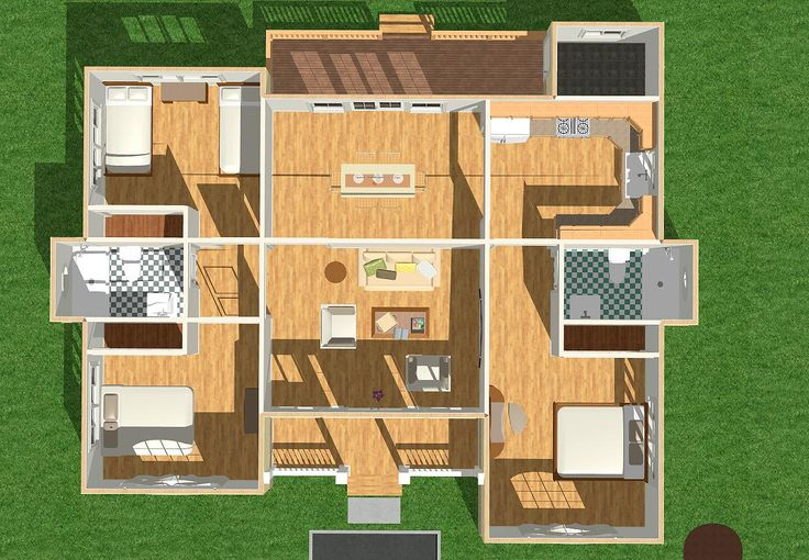 16 Best House Plan Images On Pinterest