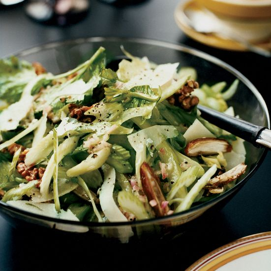 Celery Salad with Walnuts, Dates and Pecorino Recipe - Melissa Rubel Jacobson | Food & Wine