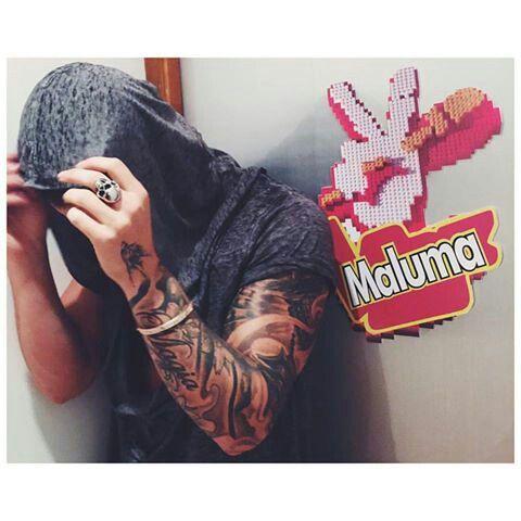 ,#MALUMA