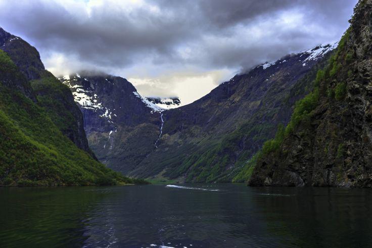 Excursion of Aurlandsfjorden, Norway