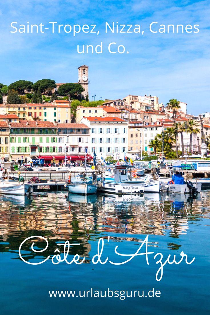 Kommt mit mir auf eine Rundreise an der wunderschönen französischen Urlaubsregion Côte d'Azur. Es geht durch bezaubernde Städte wie Saint-Tropez, Nizza, Cannes und Co.!