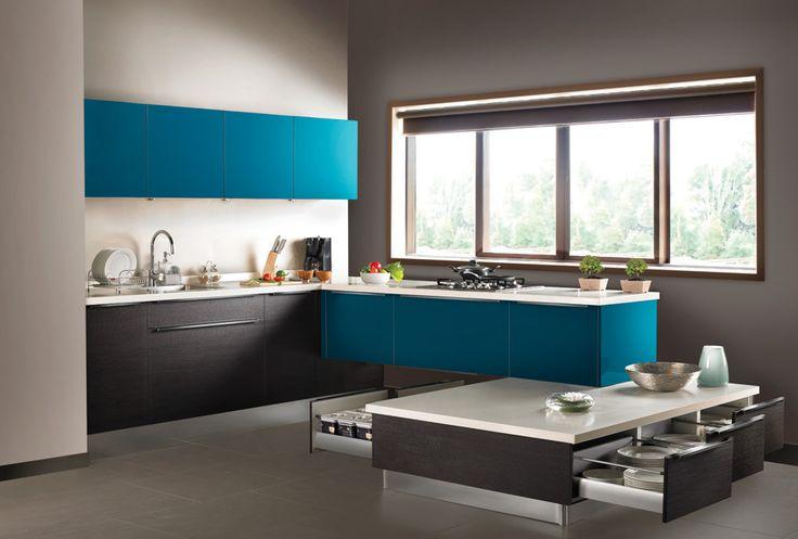 E Shaped Modular Kitchen Designer in Kanpur - Call Kanpur Kitchens