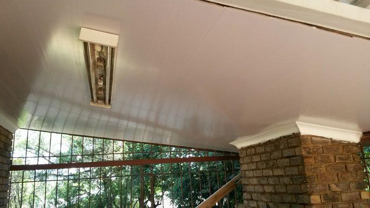 Pvc ceiling instalation