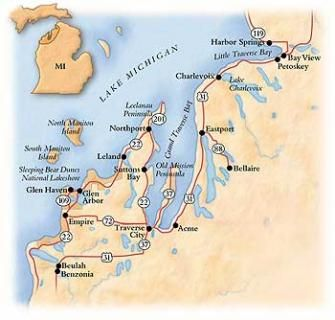 Traverse Bay Driving Tour | Midwest Living