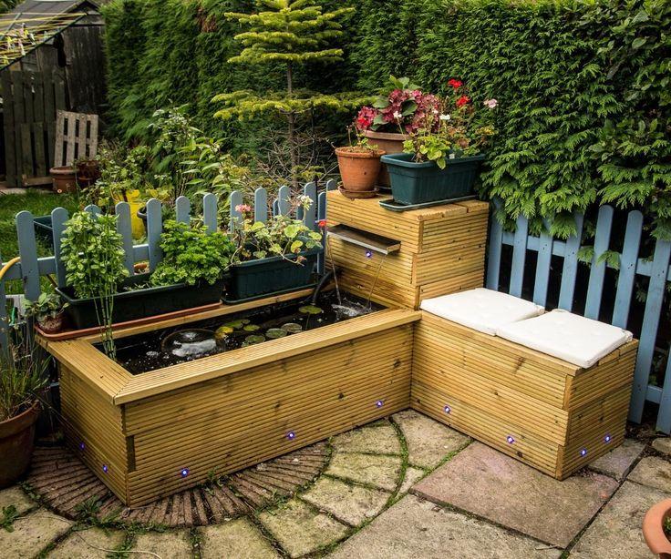 8 best Garden Idea Pond images on Pinterest Garden ideas Raised