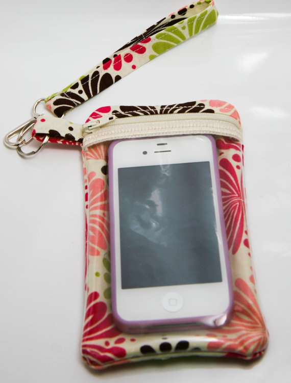Smart Phone Cell Phone Case / Wristlet / by CapturingTheHeart, $18.00