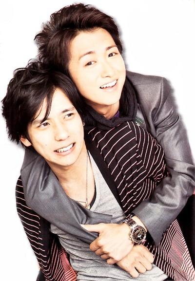 Kazunari Ninomiya and Satoshi Ohno
