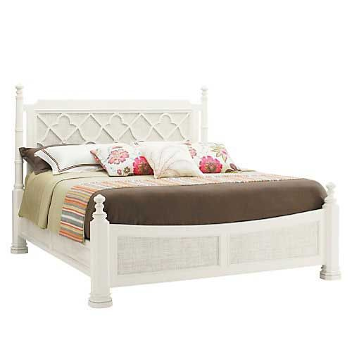Adjustable beds naples fl : Tommy bahama ivory key southampton king poster bed lx