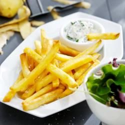 Chips made in an Airfryer - Easy and Healthy