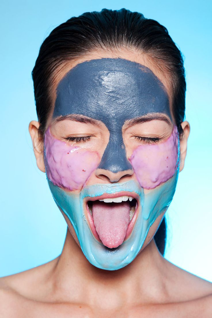 """How To Give Yourself A Spa-Worthy DIY Facial #refinery29  http://www.refinery29.com/at-home-facial#slide-3  Get Multi-Masking """"I love mixing masks together for an added effect,"""" Vargas says. This is especially key when it feels like different parts of your face require different kinds of lovin' (like, your oily T-zone needs a totally different treatment than, say, your super-red chin).  Here's what Vargas prescribed for our model. """"The chin and jawline tend to get inflamed easily,"""" she says…"""