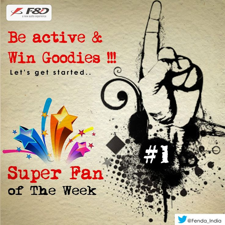 Are you among those who wish to be the F&D's SUPER FAN of the week & win exciting goodies!  Get active on F&D page and Calculate you FanScore here https://www.facebook.com/FnDindia/app_571907769543674