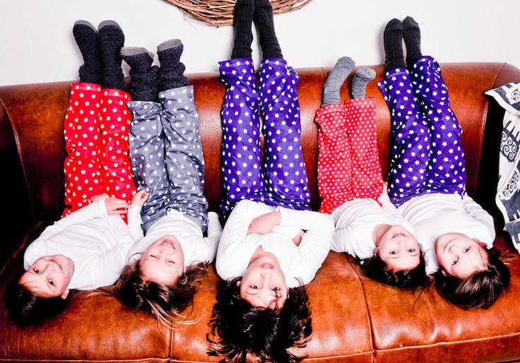 Vrolijke kinderpyjama's. www.kitshouse.nl