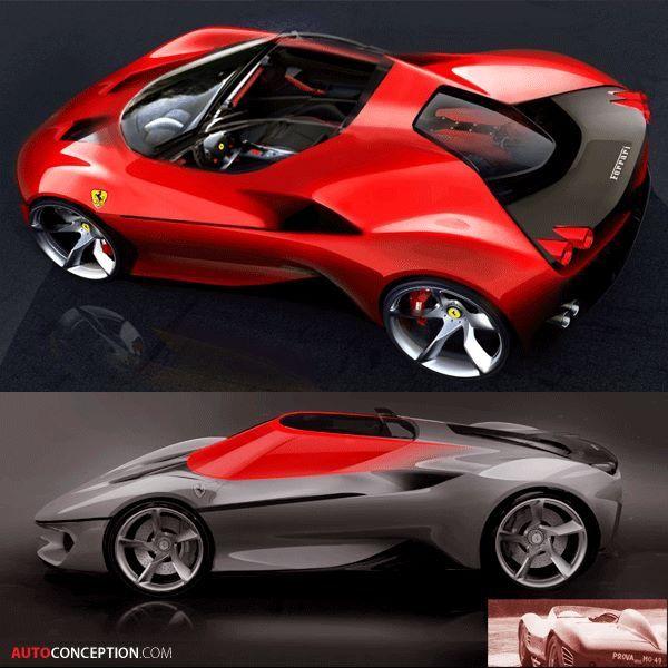 Ferrari J50 Rendering