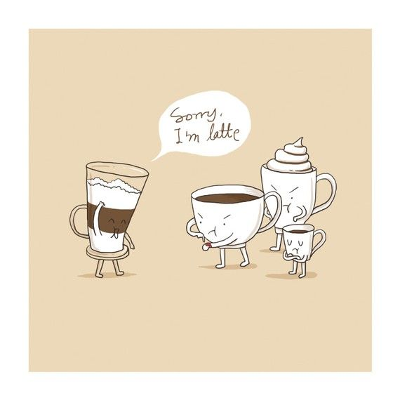 """Sorry I´m """"latte"""" :D #ProyectoPlato #SinDesechables #KeepCup"""