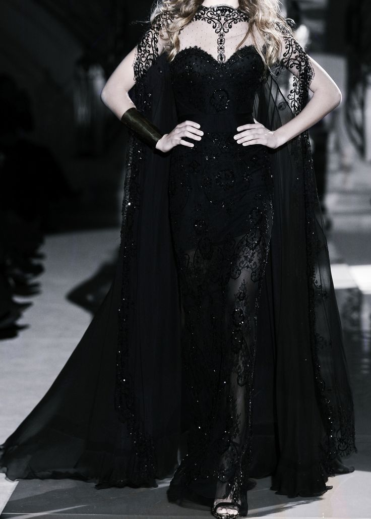 Mourning gown for Cersei Lannister - Zuhair Murad Haute Couture spring 2011