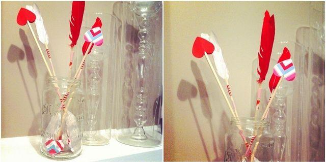 cupid's arrows...  ♥