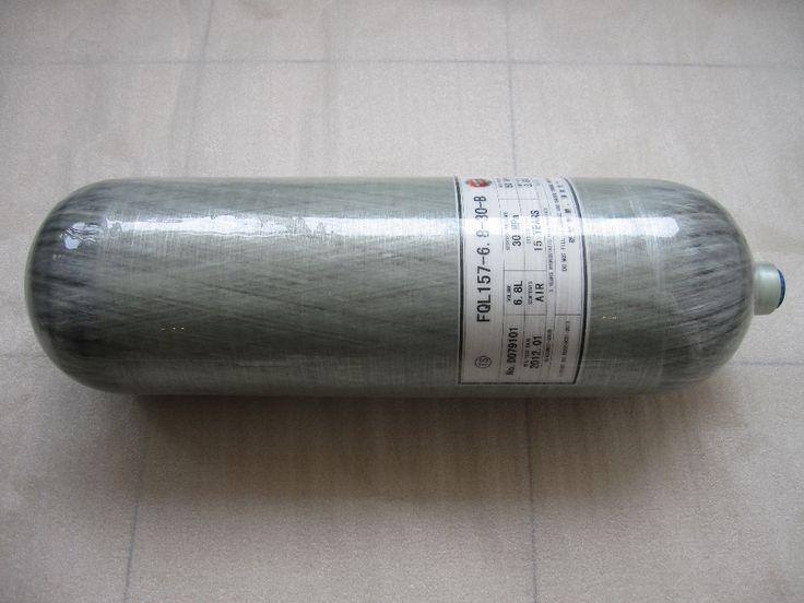 6.8L 30МПА Углеродного Волокна Цилиндр/Пейнтбол Цилиндра с Клапаном из Acecare Tech