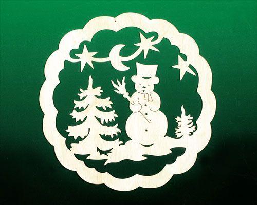 fensterbild weihnacht schneemann in 2020 | fensterbilder