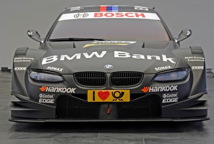 Black DTM BMW