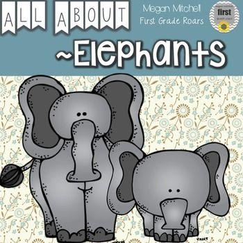 All About Elephants...A Mini Unit
