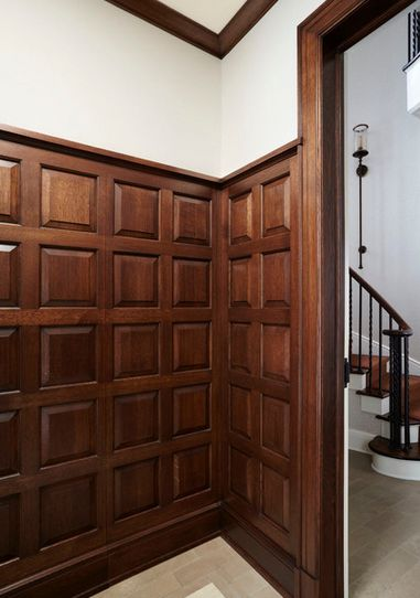 Stained Wood Wainscoting Www Decorchick Com In 2019