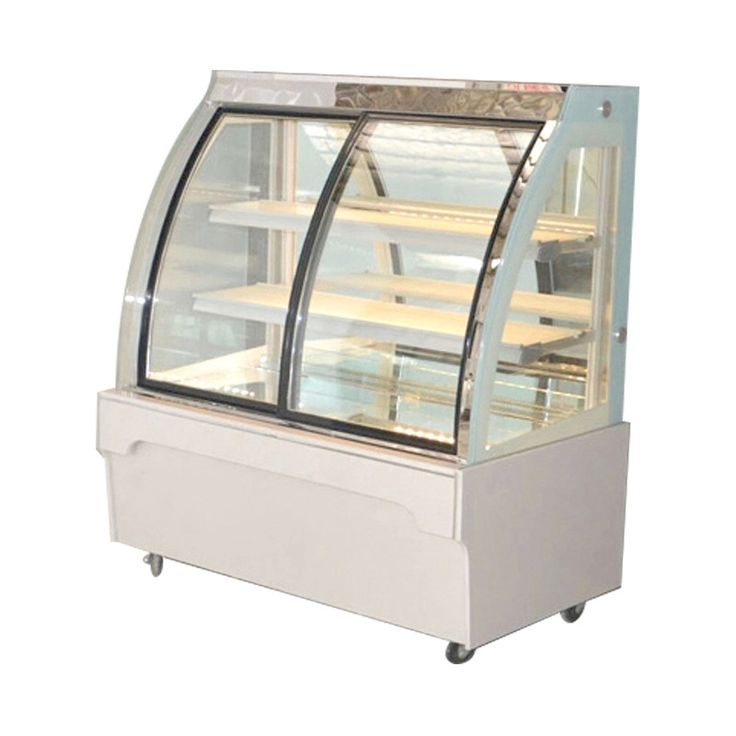 Lecon cake cabinet freezer refrigerated freezer cake showcase sushi fruit delicatessen front door cabinet LC-DDG01 1600Y