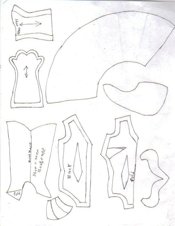 monster bunz pdf sewing pattern