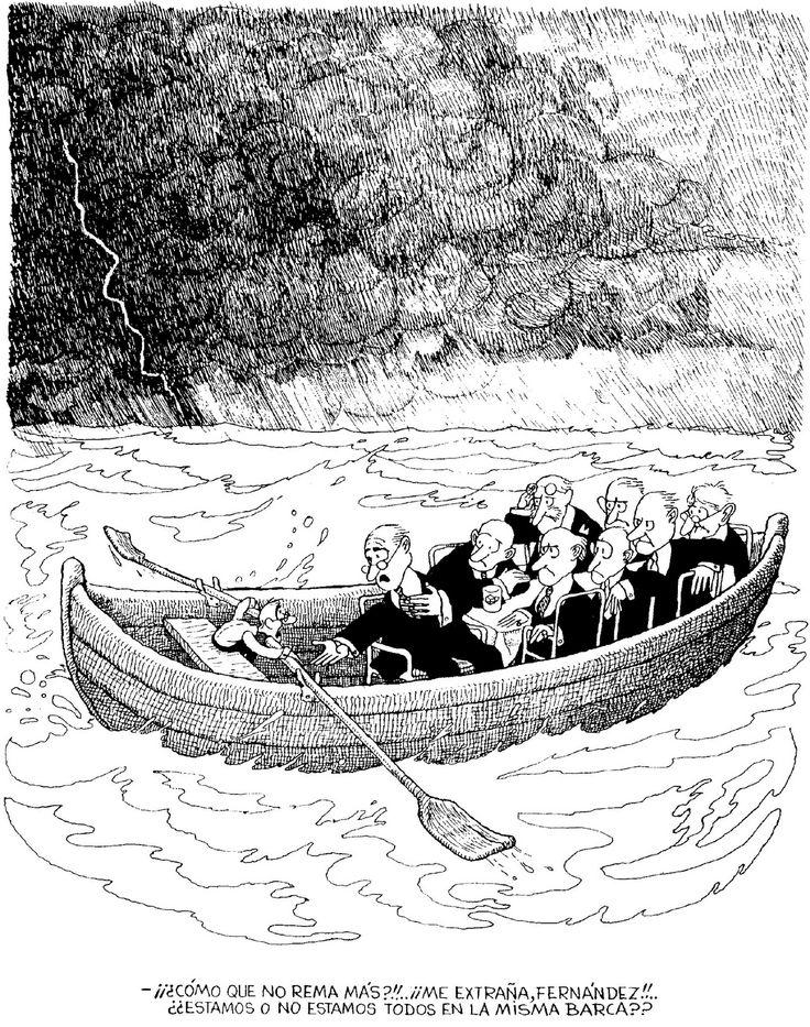 El mismo barco Quino