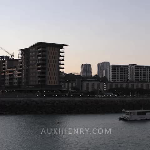 """#Timelapse : """"Waterfront Sunset"""" Another in the aukihenry.com timelapse collection from Darwin, Australia.  #Photography #Vines"""
