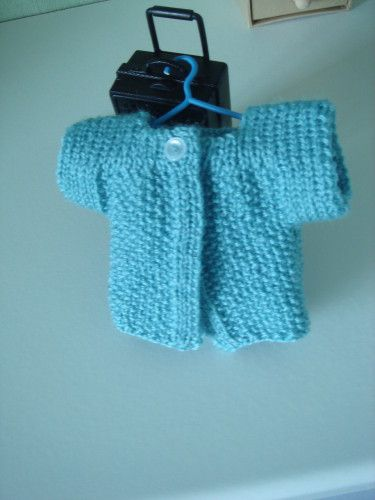 Petite veste СЂС–РІВ tricoter