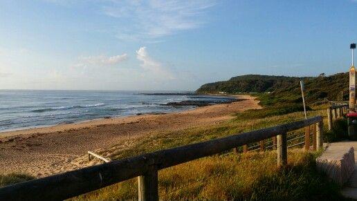 The beautiful Shelly Beach #awesome morning walk  today Fri 12 Feb '16