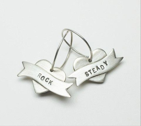 Rock / Steady Earrings