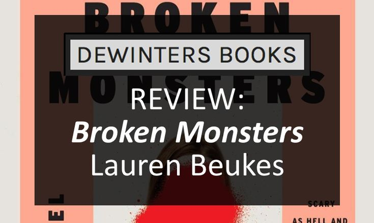 "#BookReview - Broken Monsters | Lauren Beukes  ""It's wild. Ghosts of the industries on top of ghosts of the natives- we've got thousands of years of ghosts here. Some people have ghost towns, we have a whole ghost city."""