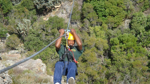 Ceres Zipslide Adventures - conquering the fear