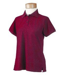 Chestnut Hill Ladies Short Sleeve 100% Polyester Micro Pique Performance Polo Technical Sport Shirt - Merlot CH365W L Chestnut Hill. $19.99