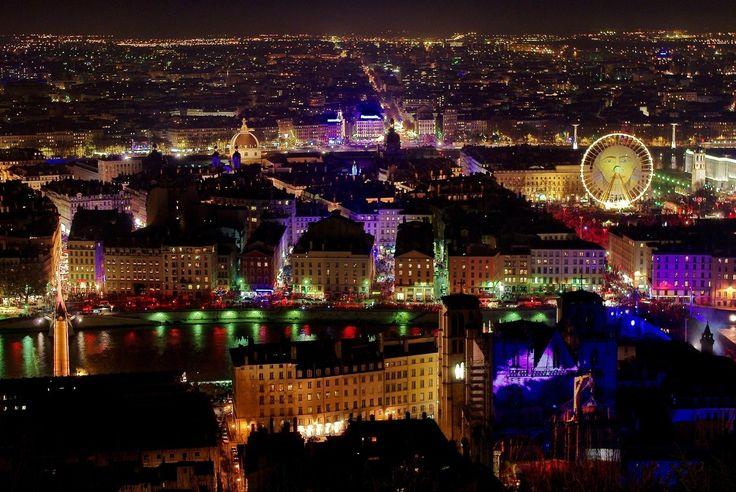 フランス・リヨン「光の祭典」が世界のどのイルミネーションよりも美しい 1枚目の画像