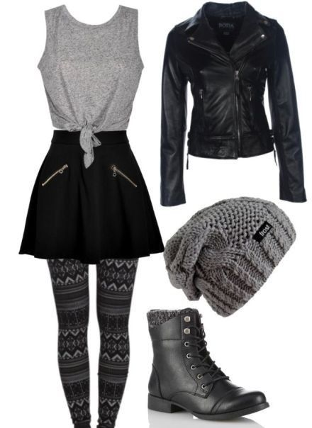 Fabulous school outfit ideas for teens 2018
