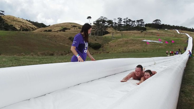 Awesome Inflatable Waterslide
