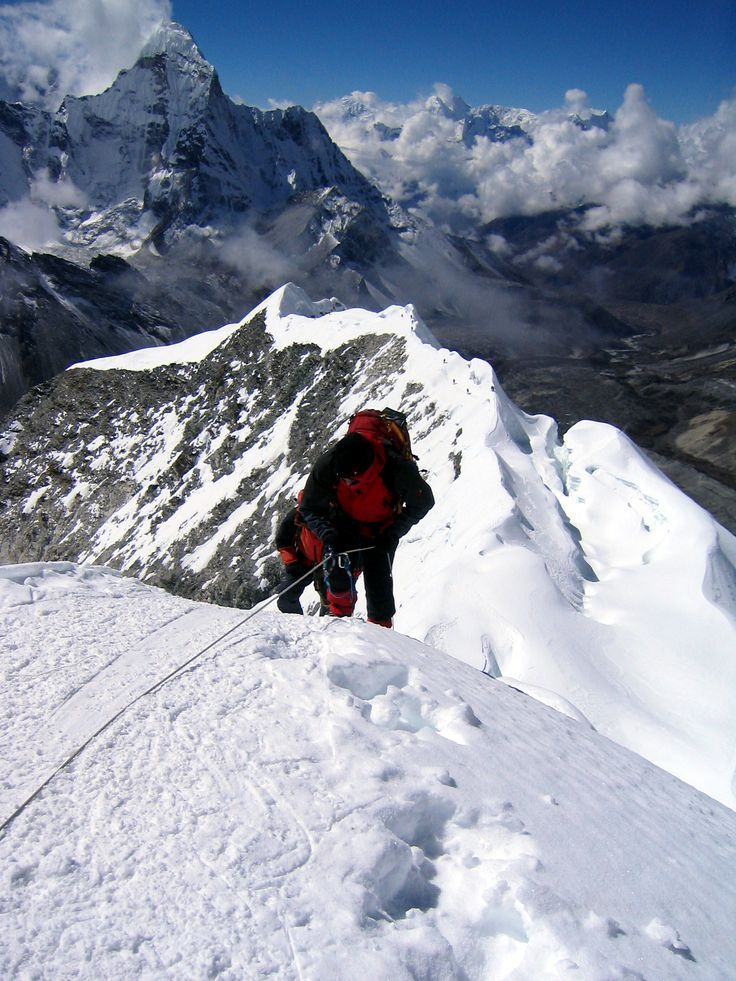 In 1906, at age 47, Fanny Bullock Workman set a world climbing record for women of 22,815 feet when she reached the top of Pinnacle Peak in Nun Kun Massif in Kashmir.