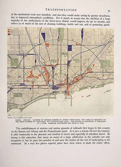 Plan Of Chicago Daniel Burnham 1909