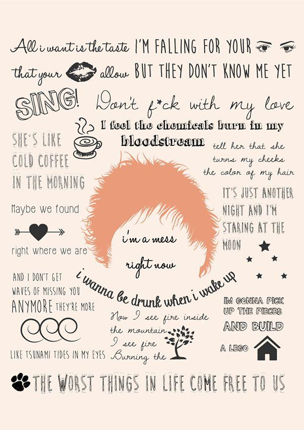 Estampas Coleção Ed Sheeran on Behance