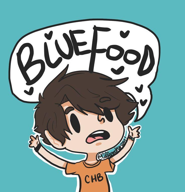 percy jackson blue food pjo hoo chibi percy coffeemakerway fan art chb - picslist.com